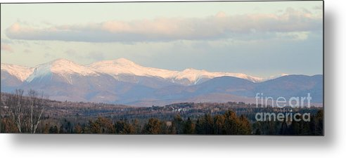 Panoramic View Metal Print featuring the photograph Panoramic View Of Presidential Range by Mark Guilfoyle