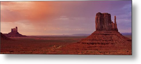 Left Mitten Metal Print featuring the photograph Late Evening, Left Mitten by Jesse Castellano
