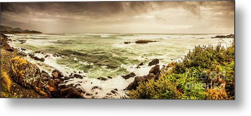 Wide Metal Print featuring the photograph Tidal Vastness by Jorgo Photography - Wall Art Gallery