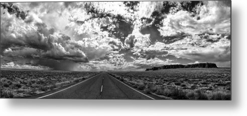 Arizona Metal Print featuring the photograph Arizona Highway by Dariusz Janczewski