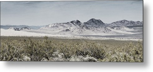 Nevada Metal Print featuring the photograph Mountain Range by Nancy Killam