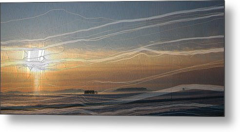 Ice Metal Print featuring the photograph Ice Veil by Melvin Kearney