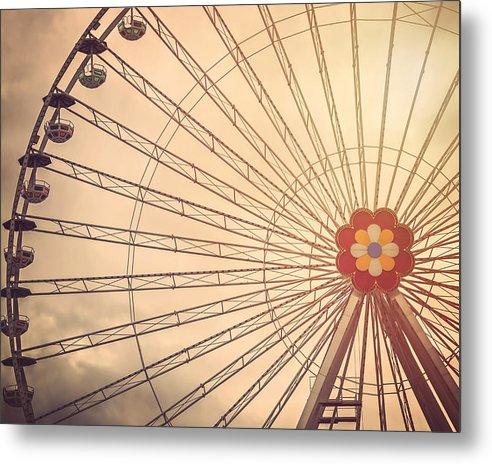 Ferris Wheel Prater Park Vienna by Carol Japp