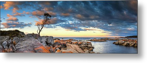 Scenics Metal Print featuring the photograph Binalong Bay by Bruce Hood