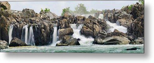Scenics Metal Print featuring the photograph Great Falls Panoramic by Ogphoto