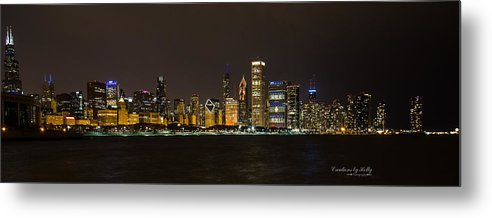 Metal Print featuring the photograph Chicago Lake Front by Holly Carpenter