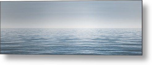 Water Metal Print featuring the photograph Limitless by Scott Norris