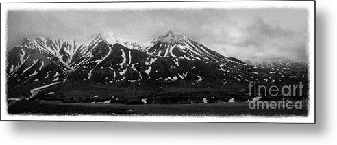 Alaska Metal Print featuring the photograph The Real Alaska - Denali Panorama by Pete Hellmann