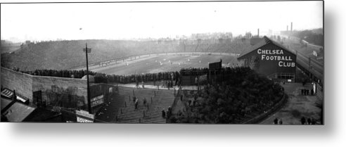 Crowd Metal Print featuring the photograph Stamford Bridge by Alfred Hind Robinson
