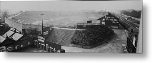 Empty Metal Print featuring the photograph Stamford Bridge View by Alfred Hind Robinson