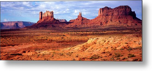 Scenics Metal Print featuring the photograph Southwest Scenery by Vittorio Ricci - Italy