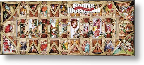 Event Metal Print featuring the photograph The Sistine Chapel Of Sports, 50th Anniversary Issue Sports Illustrated Cover by Sports Illustrated