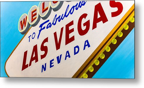 Las Vegas Metal Print featuring the painting Vegas Tribute by Slade Roberts