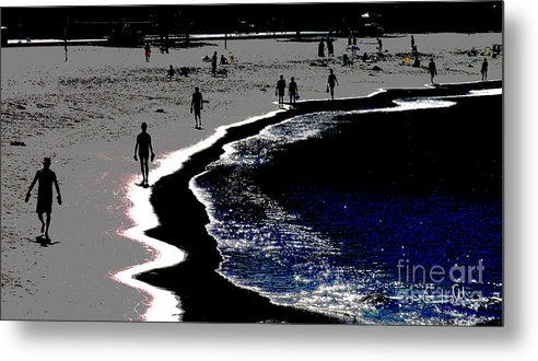 Morning Metal Print featuring the photograph Morning Walk by Carlos Alvim