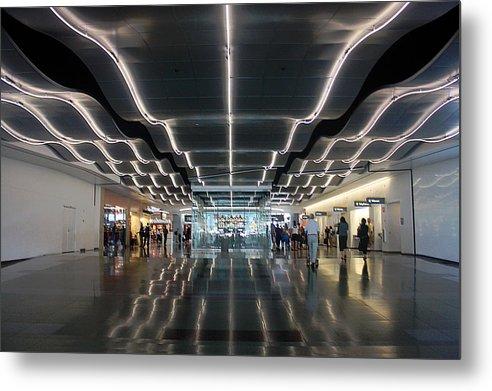 Mccarren Airport Metal Print featuring the photograph Mccarren Airport Las Vegas by Bill Buth