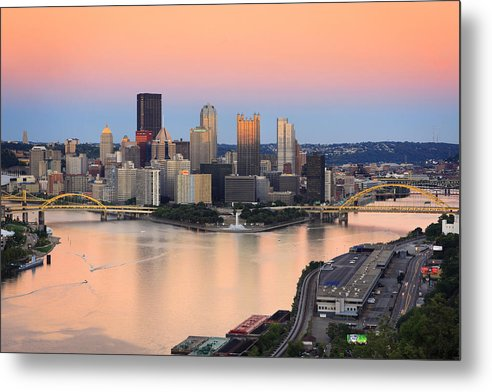 Steelers Metal Print featuring the photograph Pittsburgh 16 by Emmanuel Panagiotakis