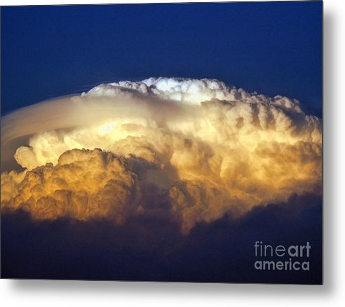 Clouds Metal Print featuring the photograph Dark Clouds - 3 by Graham Taylor
