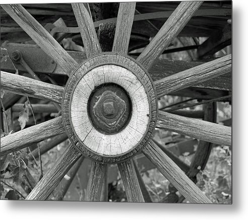Decor Metal Print featuring the photograph A Bit Of History by Ron Kizer
