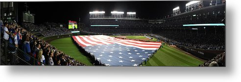 Playoffs Metal Print featuring the photograph Mlb Oct 28 World Series - Game 3 - by Icon Sportswire