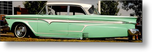 Edsel Metal Print featuring the photograph Classic Ford Edsel by Bob Beardsley
