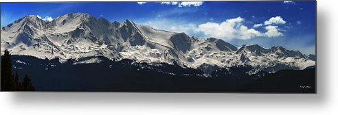 Mt. Massive Metal Print featuring the photograph Massive View by Darryl Gallegos