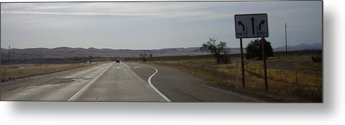 Country Metal Print featuring the photograph Which Way by Julie Ringer