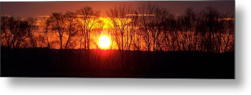 Sunrise Metal Print featuring the photograph Sunrise 5 1 2009 002a by Chris Deletzke aka Sparkling Clean Productions