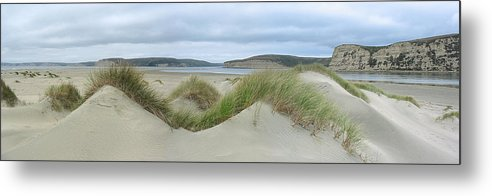 Landscape Metal Print featuring the photograph Limantour Spit On A Grey Day by Bob Bennett