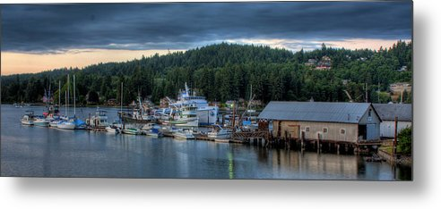 Gig Harbor Metal Print featuring the photograph Gig Harbor 01 by Kelly Bryant