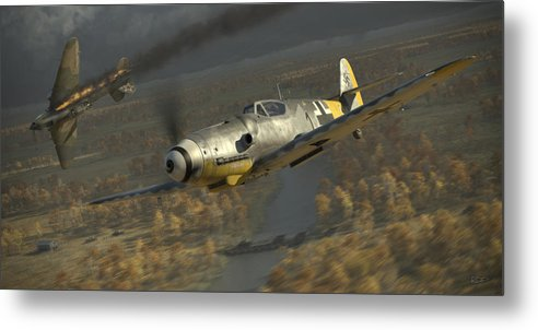 Wwii Metal Print featuring the digital art 200 by Robert Perry