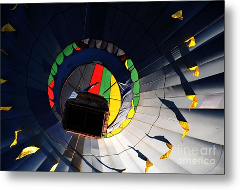 Hot Air Balloon Metal Print featuring the photograph Hot Air UP by Leon Hollins III
