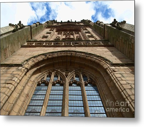 Cathedral Metal Print featuring the photograph Looking up to God by Steev Stamford