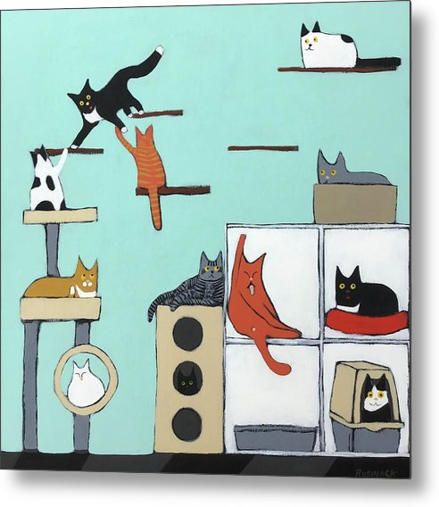 Cat Room by Sherry Rusinack