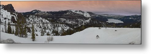 Metal Print featuring the photograph Donner Panoramic by Adam Blankenship