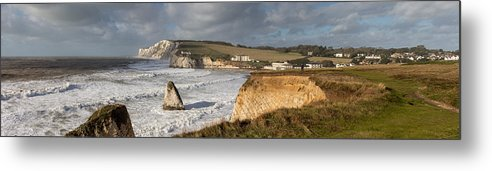 Tranquility Metal Print featuring the photograph Freshwater Bay panorama by s0ulsurfing - Jason Swain