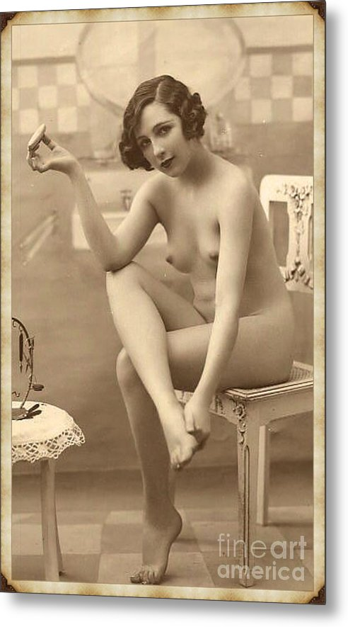 Digital Ode to Vintage Nude by MB by Esoterica Art Agency