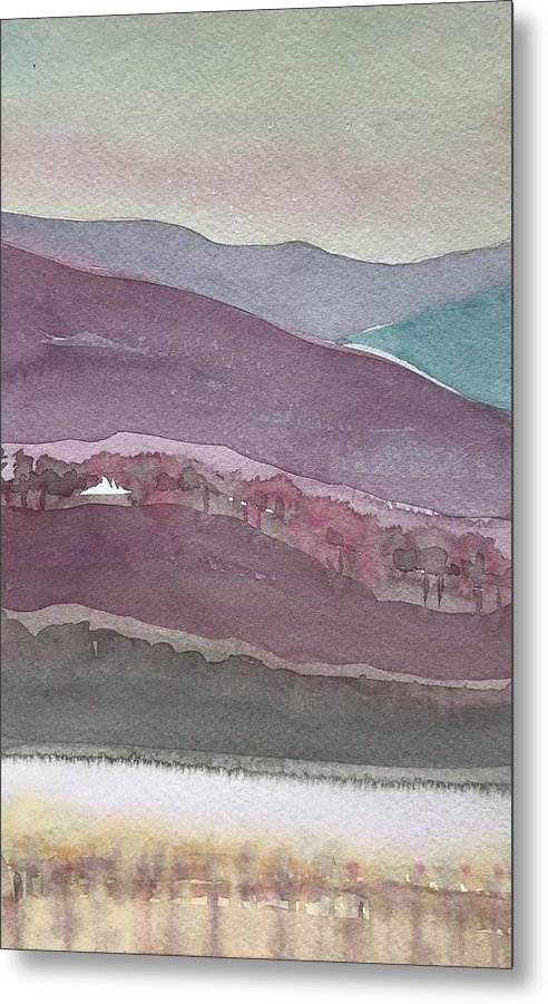 Abstract Purple by Luisa Millicent