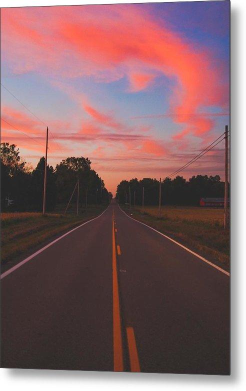 Pink Skies  by Matthew Jackson