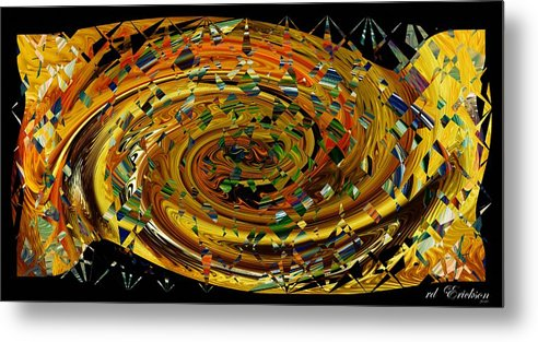 Rd Erickson Metal Print featuring the digital art Modern Art II by rd Erickson