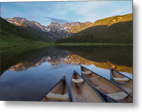 Peaceful Evening in the Rockies by Aaron Spong