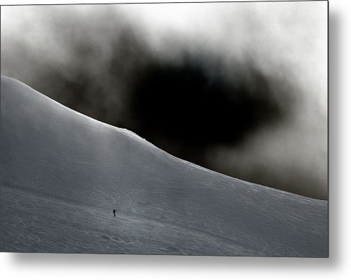 Snow Metal Print featuring the photograph Chamonix by Geert Mantel