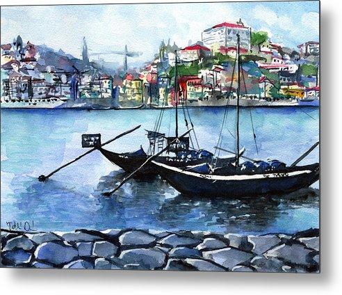 Porto Rabelo Boats by Dora Hathazi Mendes