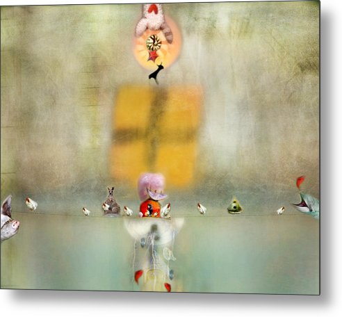 Fish Metal Print featuring the photograph Openings by Karen Divine