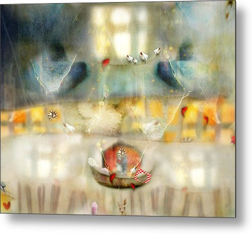 Windows Metal Print featuring the photograph Windows And Openings by Karen Divine