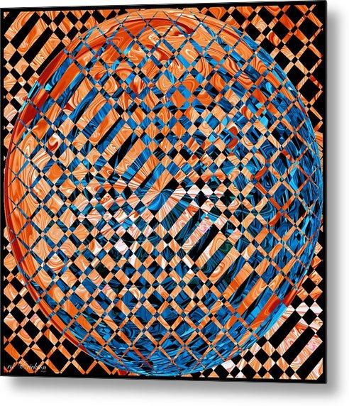Modern Metal Print featuring the digital art Modern Art Iv by Roy Erickson