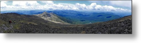 Mt Monroe Metal Print featuring the photograph Mt Monroe Panorama by Tim Canwell
