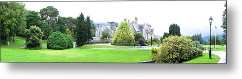 Muckross Castle Metal Print featuring the photograph Muckross Castle by Charlie Brock