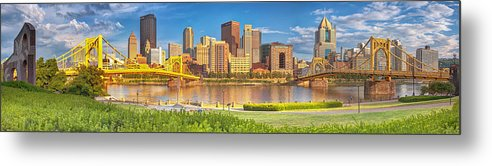 Pittsburgh Metal Print featuring the photograph Idyllic Afternoon by Jennifer Grover