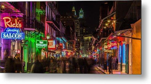 Midnight on Bourbon Street by John McGraw