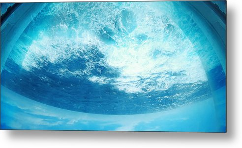 Water Metal Print featuring the mixed media Water by M Urbanski